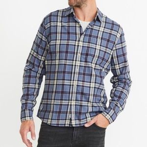 MARINE LAYER Navy Blue Button Up Long Sleeve Size XL Utility Barn Shirt Jacket